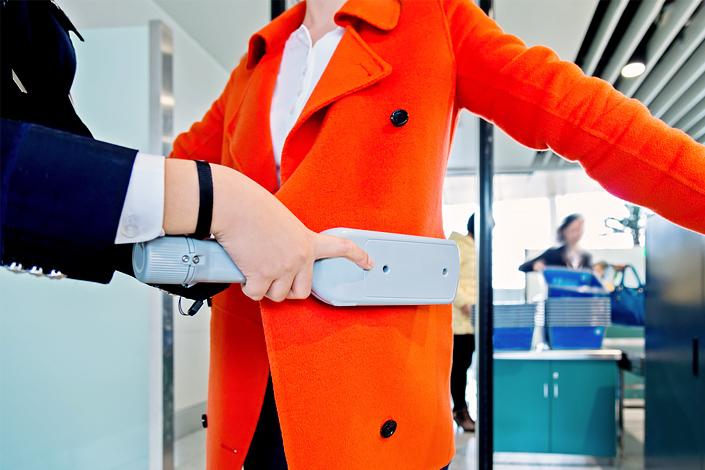 Control de seguridad en el aeropuerto